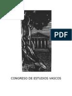 Congreso de Estudios Vascos que celebrará sus sesiones de alta cultura en la semana del 12 al 19 de setiembre en Villa de Biarritz.- Vicente Amezaga Aresti