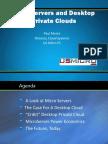 Desktop Private Cloud