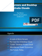 Desktop Private Cloud