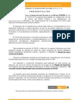 Proyecto Cultural 2012