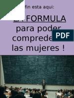 Formula Para Comp Render a Las Mujeres