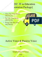Active and Passive Voice1