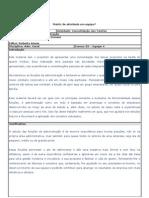 Consolidação - As funções da Administração  - Equipe 4
