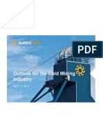 Future of the Gold Mining Industry 04-17-2012