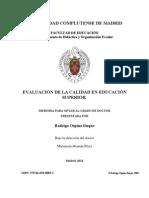 EVALUACIÓN DE LA CALIDAD EN EDUCACIÓN