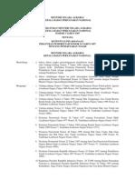 Peraturan Menteri Negara Agraria Kepala Bpn Nomor 3 Tahun 1997 Ttg Ketentuan Pelaksanaan Peraturan Pemerintah Nomor 24 Tahun 1997 Ttg ran Tanah