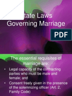State Laws Governing Marriage