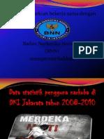 Data Statistik Penguna Narkoba 2010
