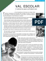 panfleto jornal escolar