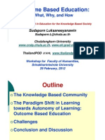 1 Outcome Based Education
