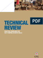 Techncial Review - Practical Guidelines for Test Pumping in Water Wells