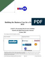 Building the Business Case for E-Procurement 2007