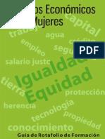 Guía Rotafolio Derechos Económicos, Igualdad Equidad.