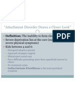 Attachment &Postpartum Depression Review