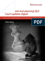 Environment and Planning Qld Court Updates Digest 2008