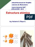 2. Estructura atomica 2012