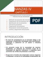 1 FUNDAMENTOS DE LA EVALUACIÓN DE PROYECTOS DE INVERSIÓN