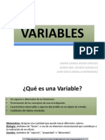 6. Variables