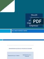 Taller Organizacion de Empresas