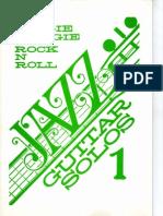 Boogie Woogie Rock N Roll Jazz Guitar Solos 1