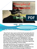 14 Principles of Management {Henri Fayol}