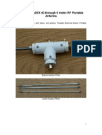 Aluminum Portable Antenna 40 Meter HF Band