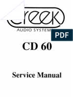 Service Manual CD60
