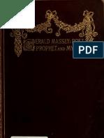 Gerald Massey Poet Prophet and Mistic