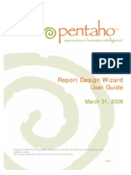 Pentaho Report Design Wizard-1.1.4