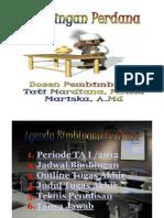Materi Bimbingan Perdana (April'2012)