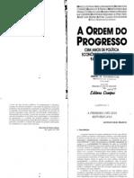 Marcelo de Paiva Abreu A Ordem Do Progresso