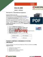 Toner original para Kyocera Mita FS-1000