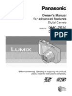 Lumix Dmc-zs20 Manual for Advanced Features