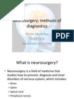 Essay Neurosurgery