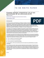 SAP IDC Creating Competitive Advantage With Business Intelligence Pervasiveness Columbian Spanish[1]