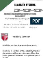 Presentation 1 Final Reliability
