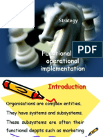 Functional and Operational Implimentation