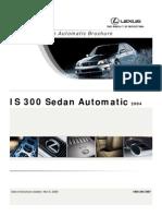LexusIS300 2004 Brochure