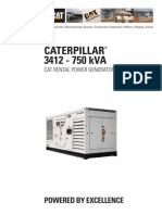 Caterpillar_3412 - 750kVA