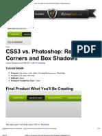 Print - CSS3 vs Photos
