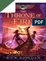 Rick Riordan - The Throne of Fire