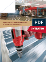 Stratco Selection Use and Maintenance