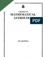 46016017 Mathematical Astro