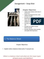 Bank Management - Snapshot