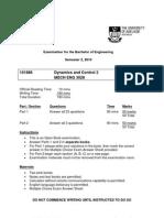 Dynamics and Control 2 2010 Exam_v6