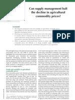 FAO Supply Chain Brief