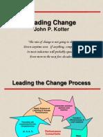 Leading Change Kotter