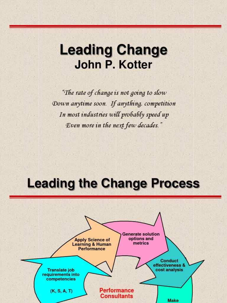 sampoerna guiding coalition and anchoring culture Step eight anchors change in the organizational culture  they must work with  the guiding coalition and other managers on the following.