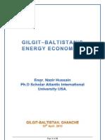 Gilgit Baltistan's Energy Economics