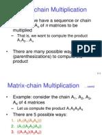 Matrix Mult
